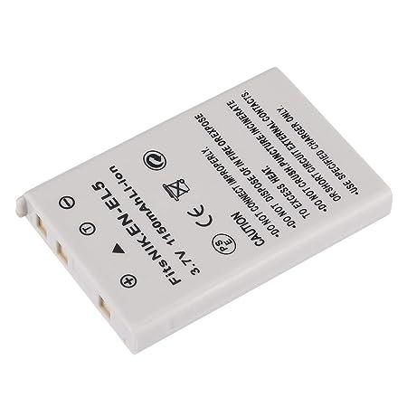 AST Works 3.7V 1150mAh EN EL5 Li ion Battery Pack for Digital Video Camera