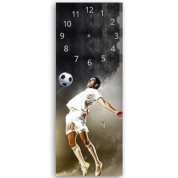Reloj de pared con gancho,, multicolor, cuadro reloj Déco Panel,, 25x65 cm: Amazon.es: Hogar