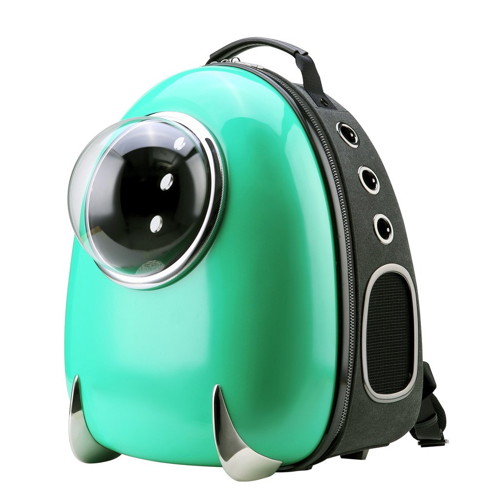 CloverPet Luxury Puppy Cats Dogs Bubble Travel Pet Carrier Backpack,Green by CLOVERPET