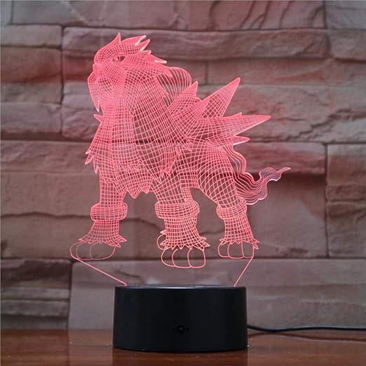 Lámpara Wangzj Night Light 3d / Illusion Night Light/Regalos ...