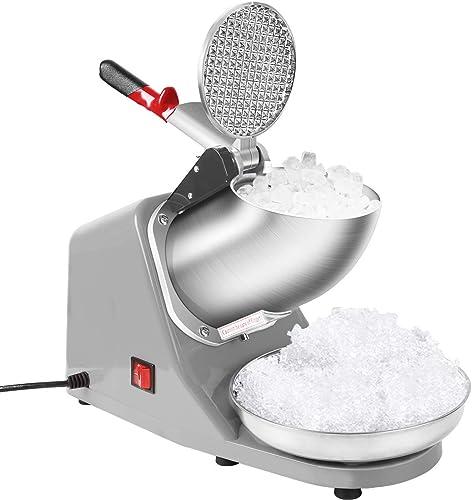 VIVOHOME Electric Ice Crusher Shaver Snow Cone Maker Machine