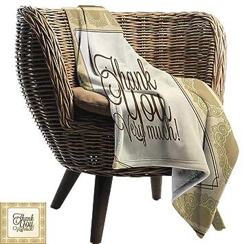Amazon.com: ZSUO - Manta de sofá romántica, diseño con texto ...