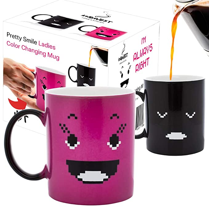 Pink-Changing-Coffee-Mug-Cute