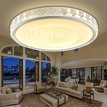 kagy led deckenleuchte lampen leuchten schlafzimmer wohnzimmer minimalistische atmosphare runden lampen 42 12cm24w 3 farbtemperatur