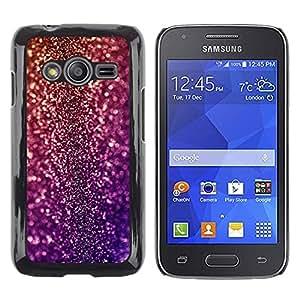 TopCaseStore / la caja del caucho duro de la cubierta de protección de la piel - Bling Glitter Disco Design Party Shiny Dress - Samsung Galaxy Ace 4 G313 SM-G313F