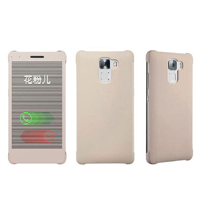 a basso prezzo ce216 def0e tongshi Per Huawei Honor 7 Case Cover flip di Windows ...