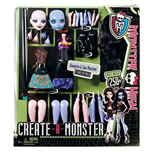 Monster Create-A-Monster y los vampiros W9157 monstruo del Lago