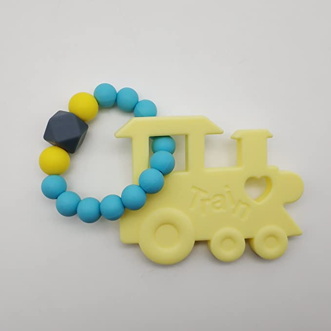 INCHANT tren de silicona Anillos teether - 100% de grado alimenticio ...