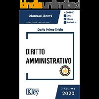 Diritto amministrativo 2020 - Manuale breve (Esame avvocato OK - Manuali Brevi) (Italian Edition) book cover