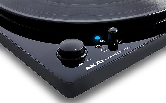 Akai Pro BT100 - Tocadiscos de correa con transmisión audio ...