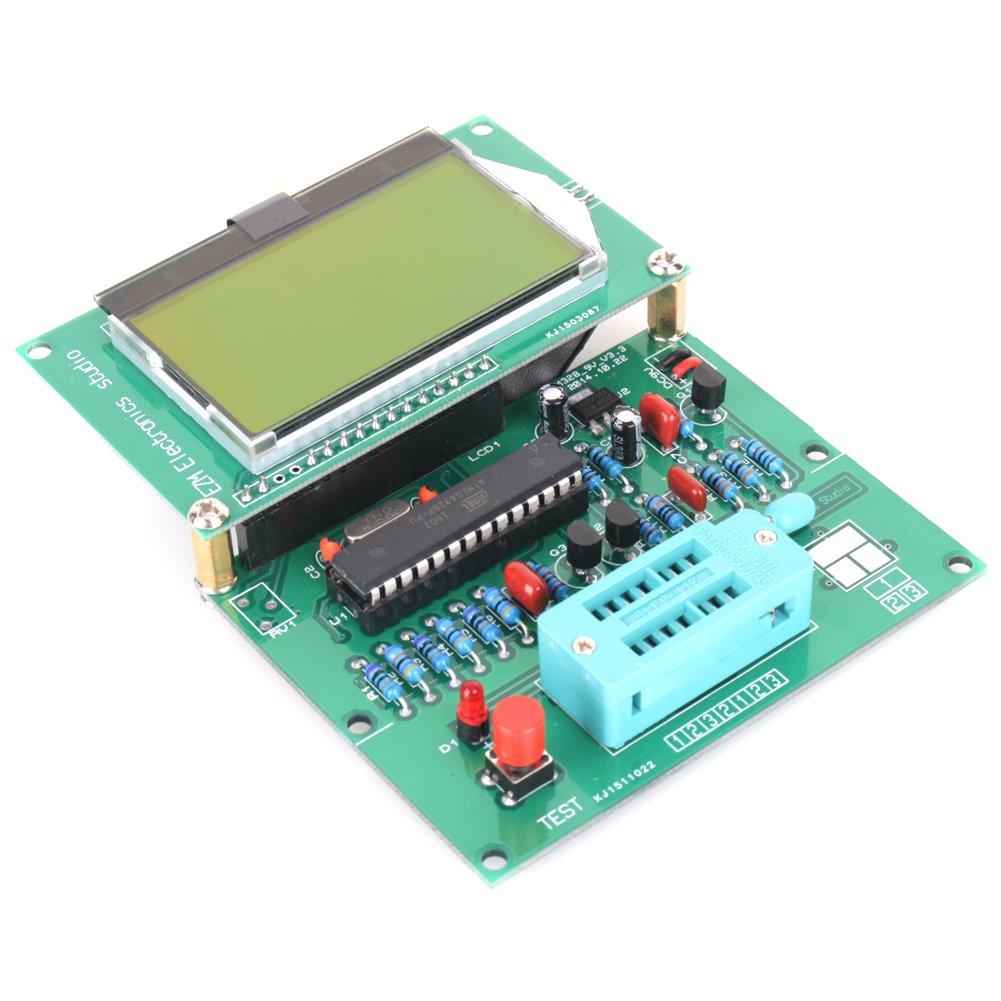 Kuman Multifunction Transistor Tester With 18 Inch Lcd Tft Display Mega328 Npn Pnp Automatic Identification