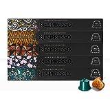 Nespresso, Nespresso, Café World Explorations, Paquete de 50 cápsulas de Sistema Original (Incluye 10 cápsulas de diferente v