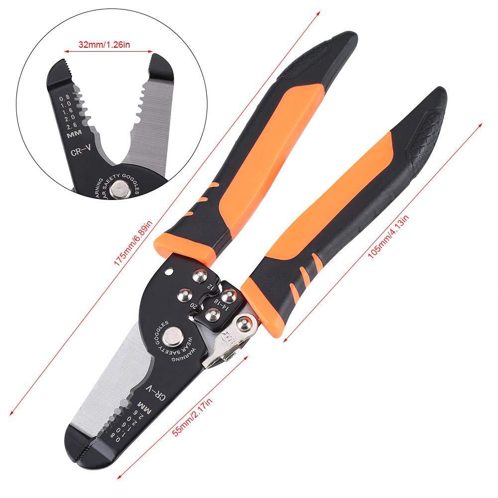 Multi-fonction /électricien coupe-c/âble c/âble pince /à d/énuder pour d/énuder sertissage serrage outil de coupe