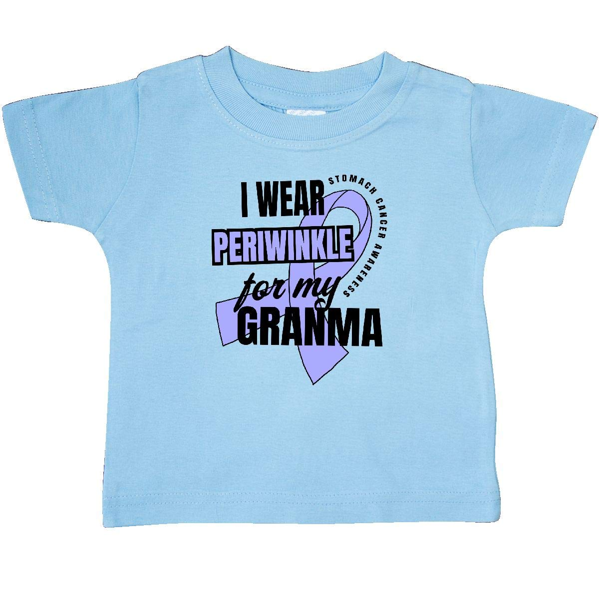 inktastic I Wear Periwinkle for My Granma Stomach Cancer Awareness Baby T-Shirt