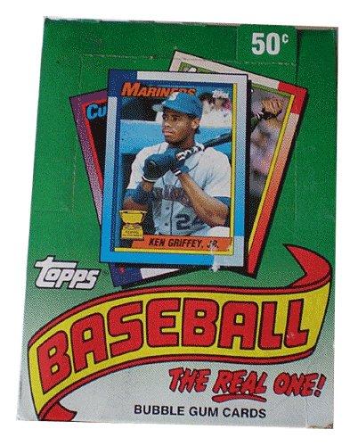 1990 Topps Baseball Cards Box (36 packs/box, possible Sosa & Thomas Rookies) ()
