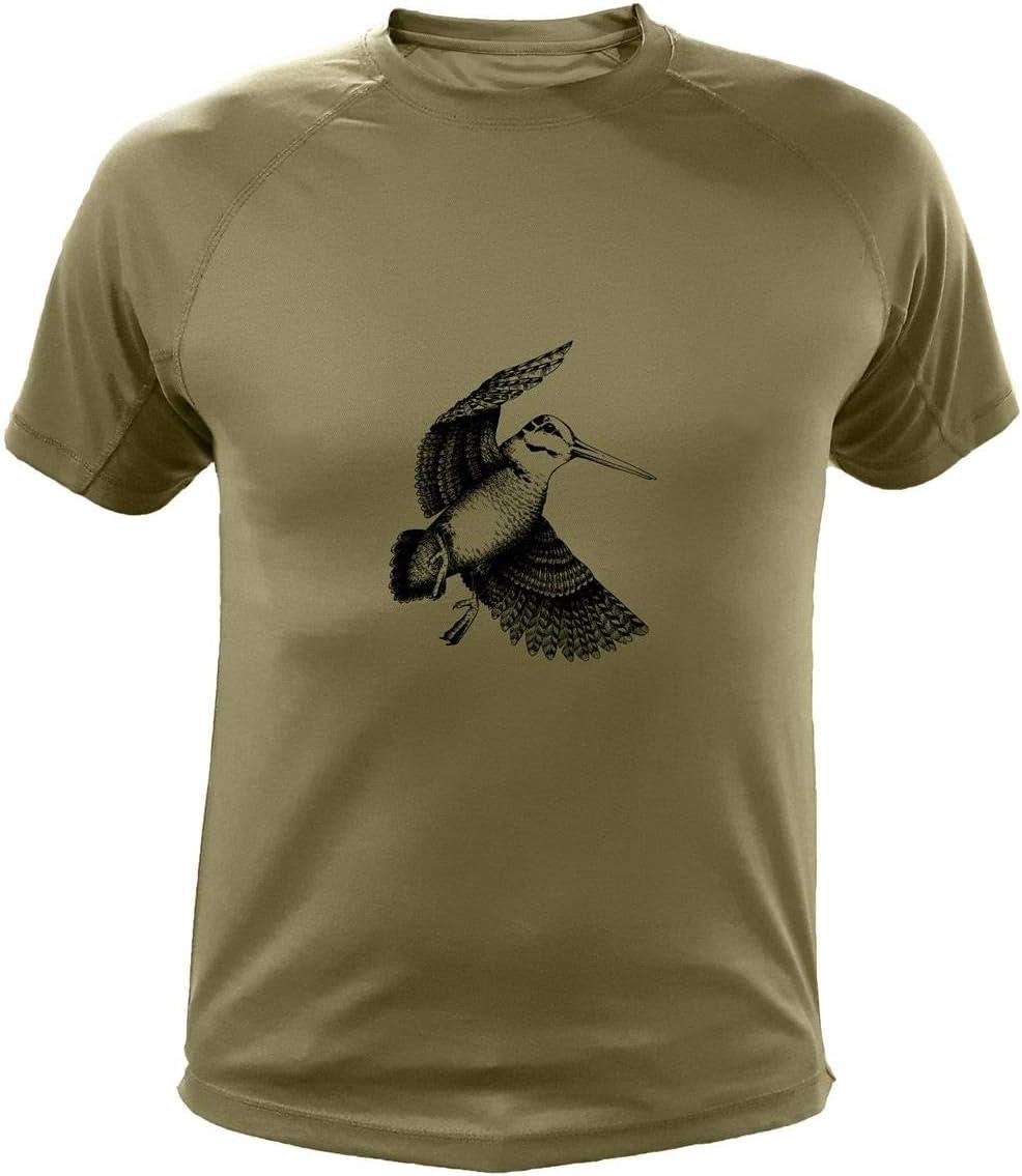 AtooDog Camiseta de Caza, Becada, Regalos para Cazadores