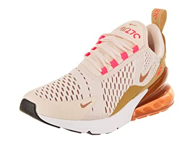sports shoes b6194 15db3 Nike Air Max 270 Womens (6.5 M US, Guava Ice/Terra Blush)
