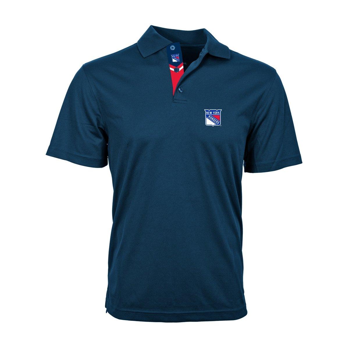 Levelwear New York Rangers Omaha NHL Poloshirt Navy