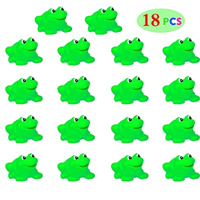 SLONLI Kids Passover Plagues Frogs Toys, 18pcs Squishy 10 Plagues Passover Frogs for Pesach Seder Table Passover Decoration Passover Gifts for Boys Girls: Toys & Games
