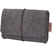 ProCase Felt Storage Case Bag Accessories Organizer for MacBook Laptop Mouse Power Adapter Cables Computer Electronics...