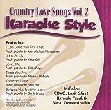 Daywind Karaoke Style: Country Love Songs, Vol. 2