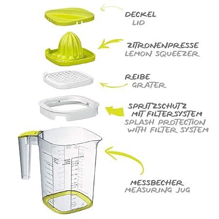 Compra Rotho 1026005070WS Loft - Vaso medidor de plástico (sin BPA ...