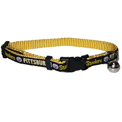 Image Unavailable. Image not available for. Color  NFL Pittsburgh Steelers  Cat Collar ... f10cd62ba