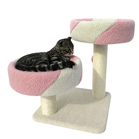 Casa para mascotas, rascador de árboles para gatos Casa Diseño de ...
