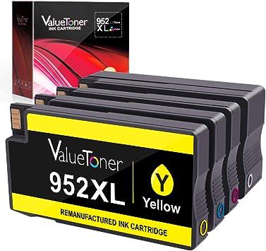 2 Black Ink Cartridge For HP 952 XL 952XL Officejet Pro 8710 8715 8716 8720 8725