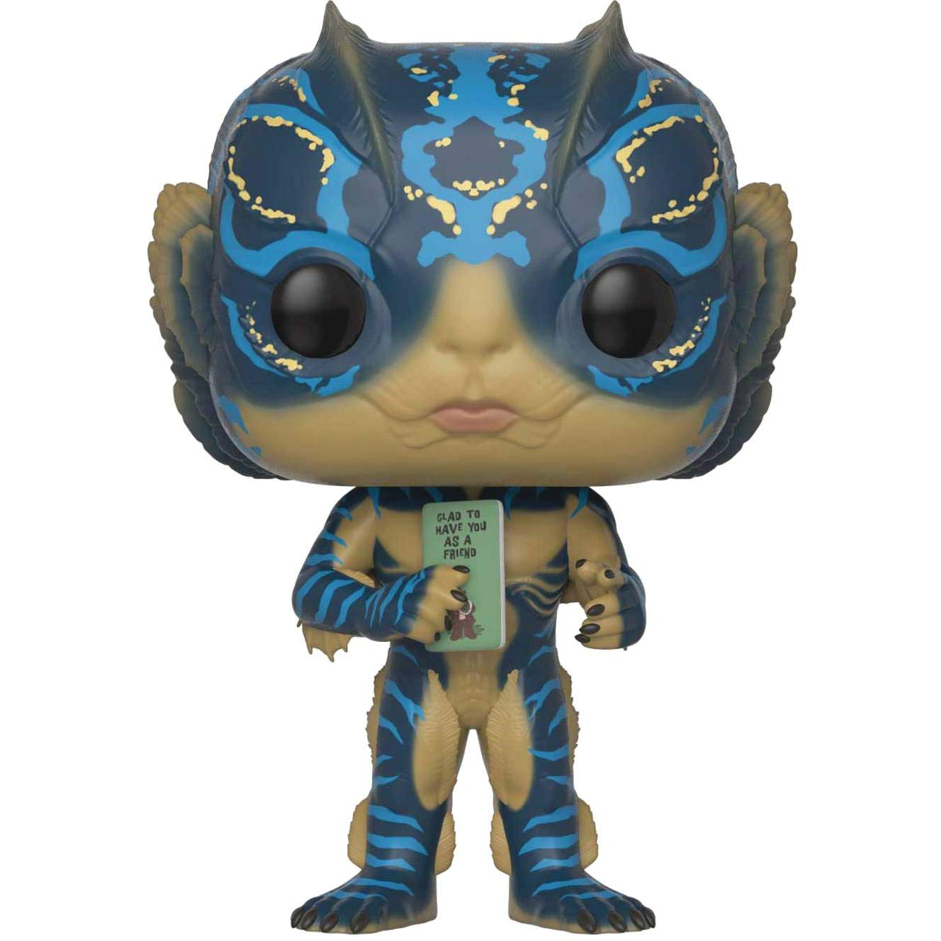 #637 // 32485 - B Movies Vinyl Figure /& 1 POP Amphibian Man: Shape of Water x Funko POP BCC9U82W Compatible PET Plastic Graphical Protector Bundle