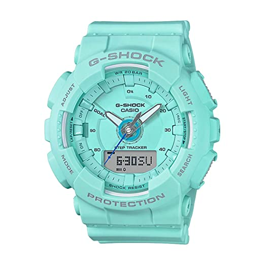 9fe9eb69a89 Buy Casio G-Shock Analog-Digital Blue Dial Men s Watch - GMA-S130-2ADR  (G803) Online at Low Prices in India - Amazon.in