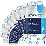 MEDIHEAL Official [Korea's No 1 Sheet Mask] - N.M.F Intensive Hydrating Mask (10 Masks)   Highly Moisturizing Korean Skincare