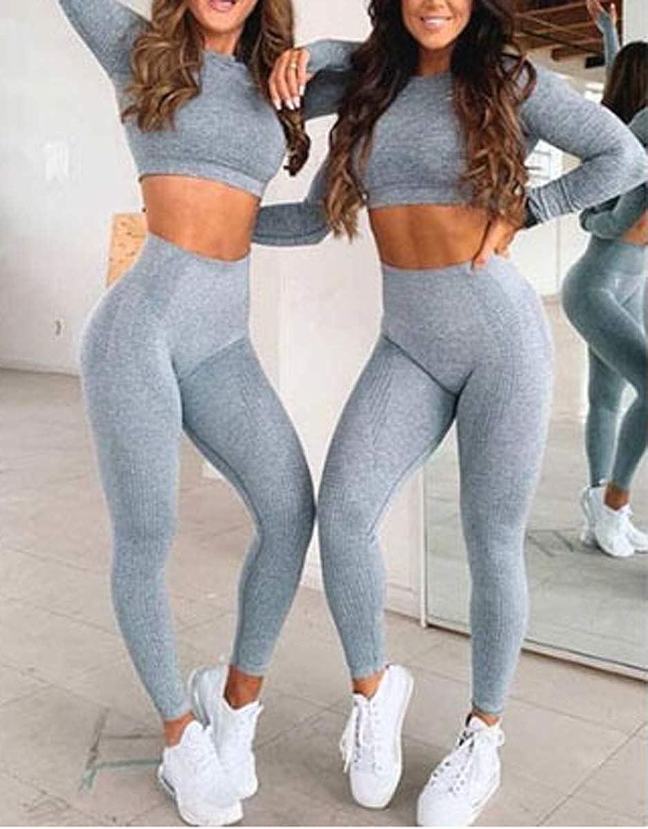 sin costuras con agujero para el pulgar Camiseta de manga larga para mujer SotRong para yoga gimnasio fitness correr