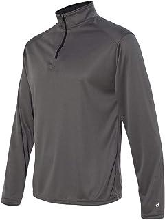 d790ee29929 4280 Badger mens Lightweight 1 4-Zip Pullover Sweaters