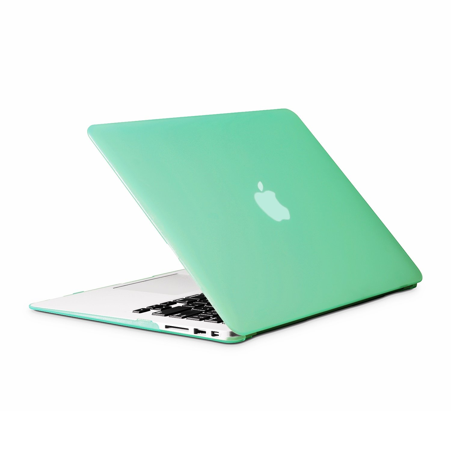 Unik Case-11 Inch Frosted Coating Rubberized Hard Case for Macbook 11 Air A1370/A1465 Shell Cover-Frosted Hot Blue
