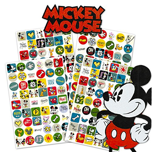 Disney Mickey Mouse Clubhouse 4 Sheet Sticker Pad with Over 200 Stickers -