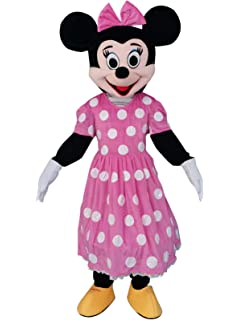 Mickey and Minnie Mouse Mascot Costume Birthday Cosplay Party Dress Outfit Adult