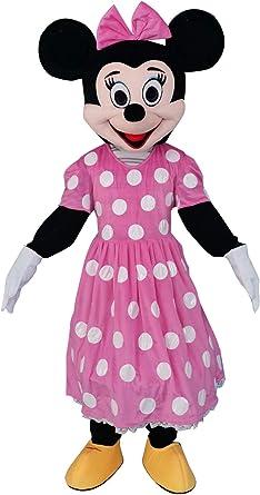 Sinoocean Disfraz de Minnie Mouse para Adulto, Color Rosa: Amazon ...