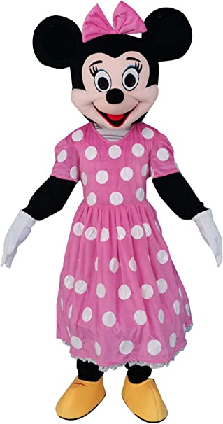 Sinoocean Disfraz de Minnie Mouse para Adulto, Color Rosa: Amazon ...