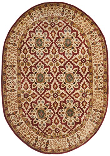 Safavieh Persian Legend Collection PL521A Handmade Traditional Beige Wool Area Rug (4' x 6') ()