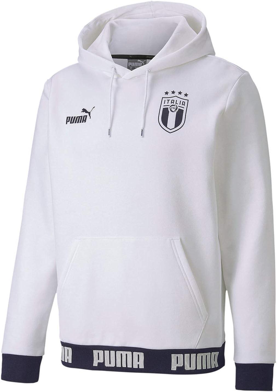 puma white hoodie