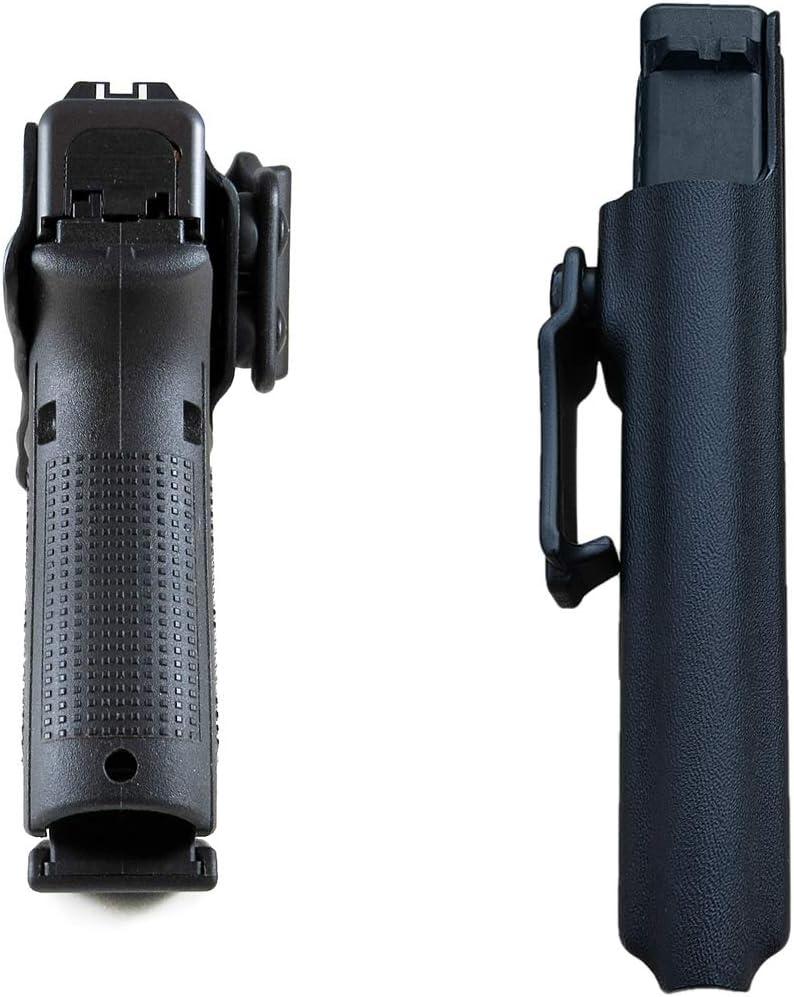 Glock 17 22 31 Pistolenhalfter H/ängend Verdeckte//Versteckte Pistole Case Waffenholster IWB Tactical KYDEX Pistolenholster F/ür