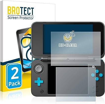 BROTECT Protector Pantalla Compatible con Nintendo 2DS XL ...