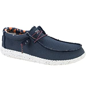 Dude Shoes Herren Wally Sox Luftstrom Hellgrau: