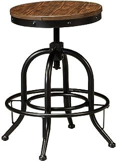 ashley furniture signature design pinnadel swivel bar stool counter height set of 2