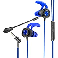 BENGOO G16 Gaming Headphones & In-ear Earphones with Mic for Mobile Game, Wired Earbuds Noise Cancelling Headset with…