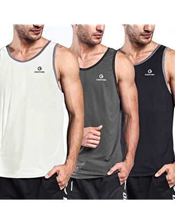 Men's Clothing Tops & Tees Good Gym Tanks Men Bodybuilding Top Stars Striped All-over Casual Print Slim Fit Muscle Shirt Vest Crop Tank Tops Muscle Guys Vests