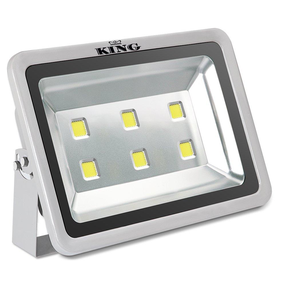 King 300W High Power LED Flood Light Daylight White 6500K Waterproof Outdoor lighting Spotlight Wall Garden Projector AC100-240V