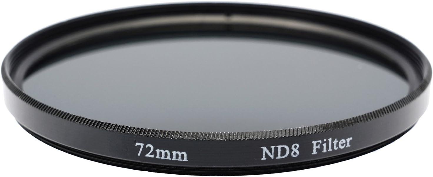 Gadget Career 72mm Neutral Density ND8 Filter for Nikon AF-S Nikkor 24-120mm f//3.5-5.6G ED-IF VR