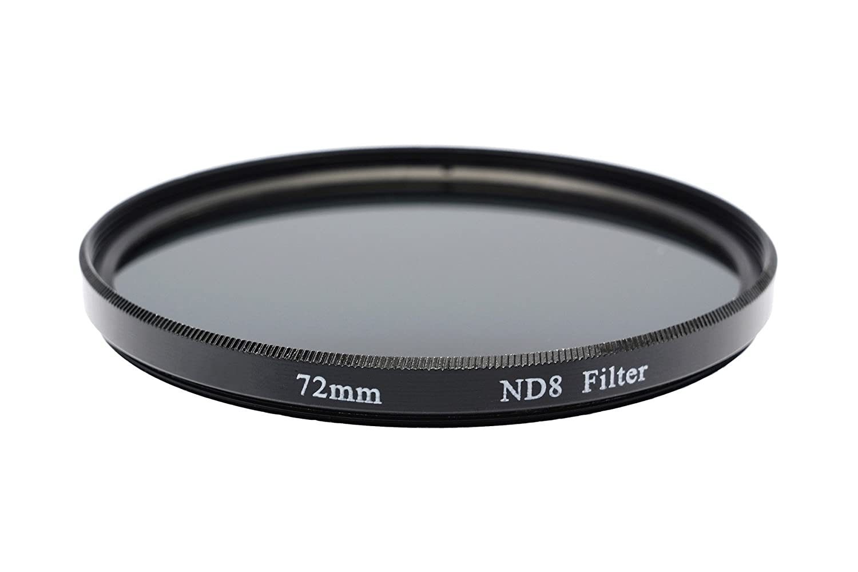 Amazon com : Gadget Career 72mm Neutral Density ND8 Filter